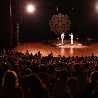 Show no Teatro Positivo