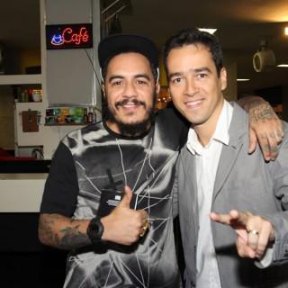 Marcelo D2 e Afonso Carvalho