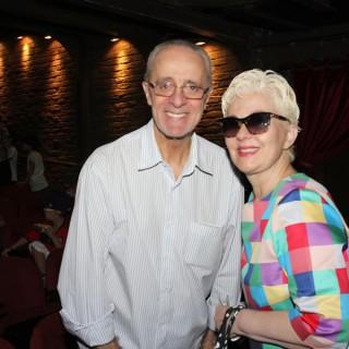 Rildo Hora e Angela Bosco